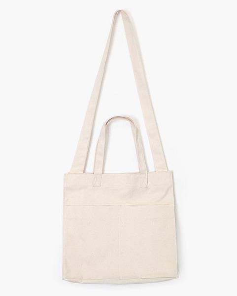 two pocket two way eco bag (3 colors)