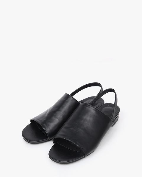 wide cover strap sandal (2 colors)