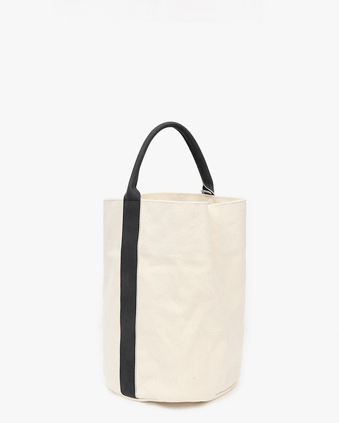daily round handle tote bag