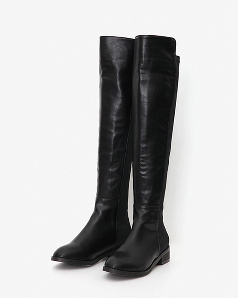 chic mood knee high boots (2 colors)