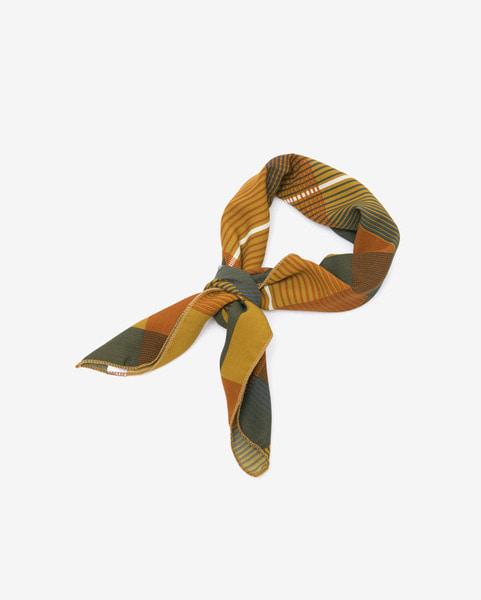 cross check square scarf