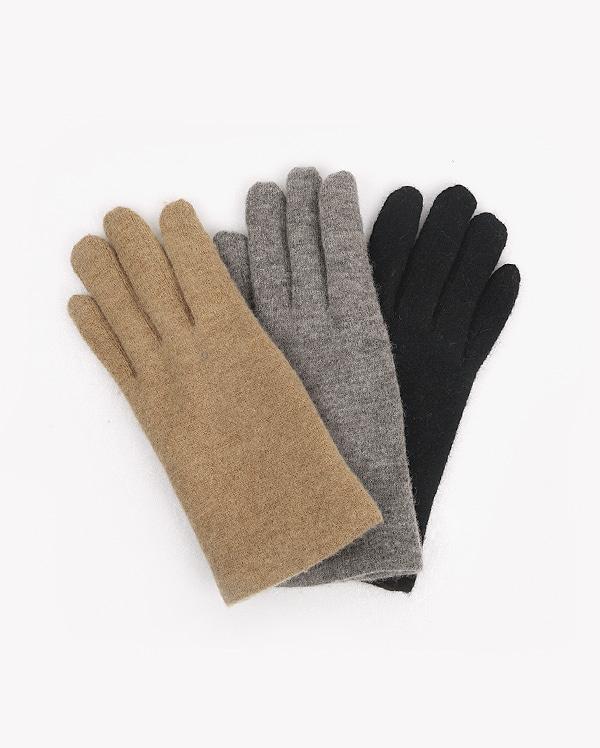 basic woolen wool gloves