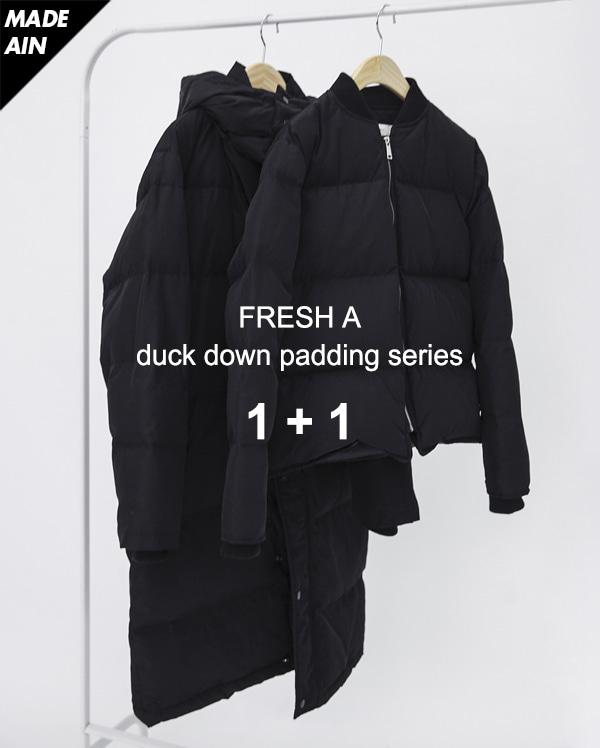 (1+1) FRESH A duck down padding