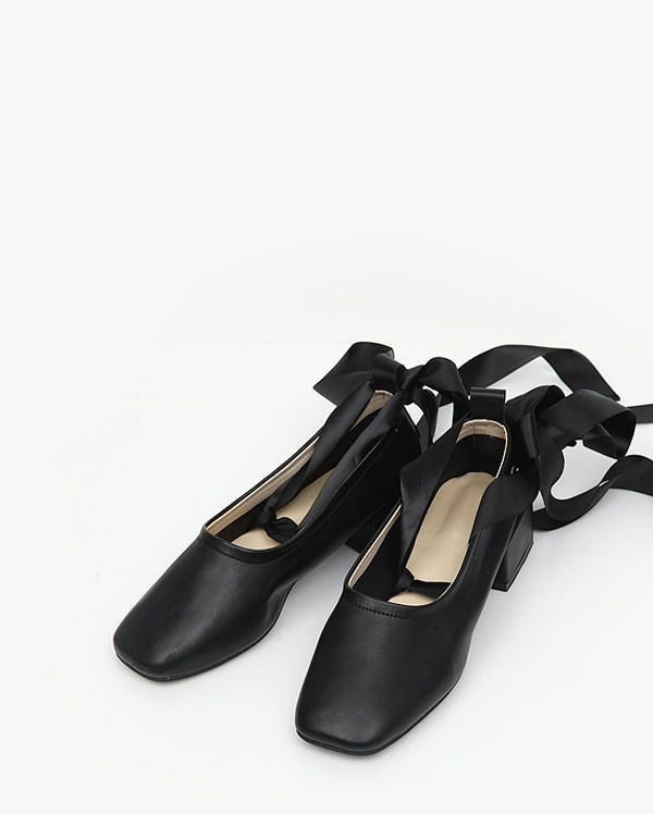 lover ribbon flat shoes (225-250)