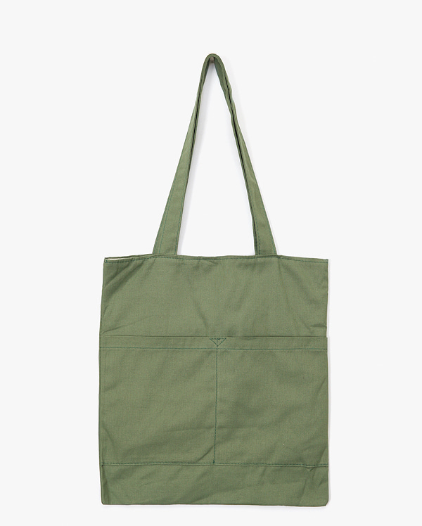 two pocket color eco bag