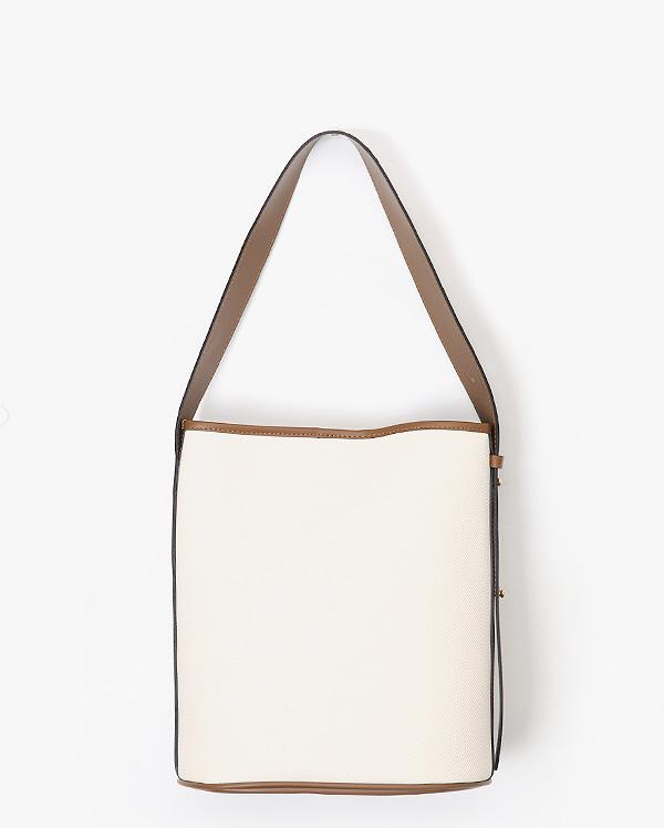 cylinder bucket bag