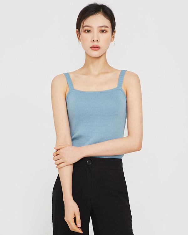 candy knit sleeveless