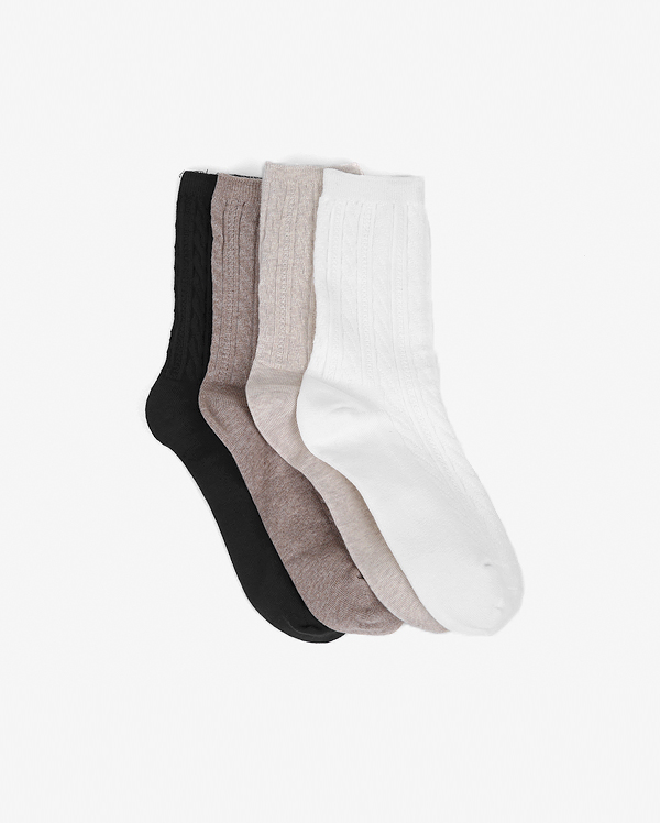 twist long socks