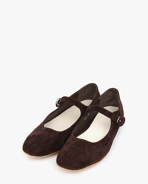 merry suede flat shoes (225-250)