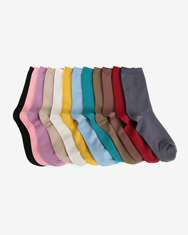 rainbow daily socks