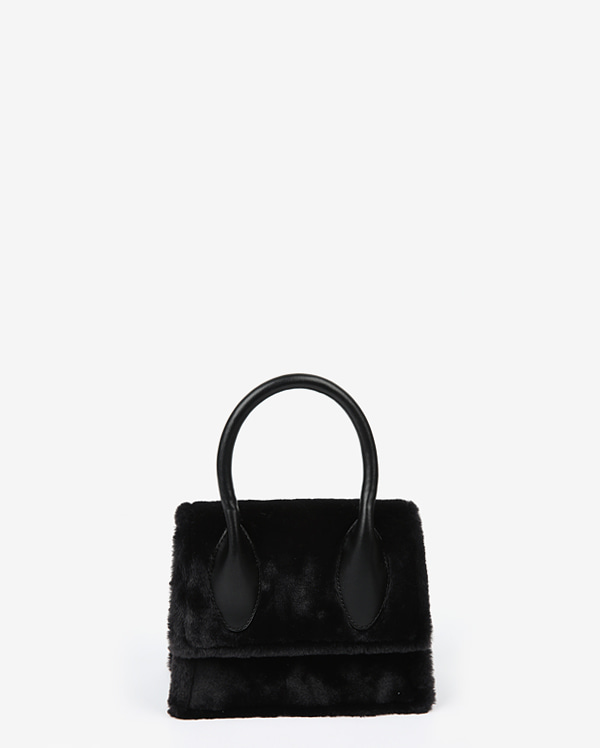 fur both sides tote bag