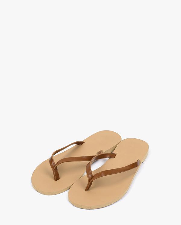 simple colorful line slipper (s, m, l)