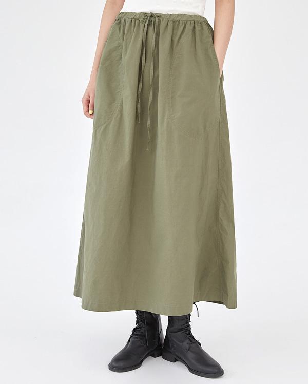 under dry cotton long skirt
