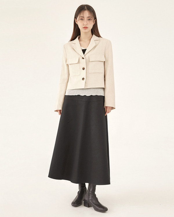 birth linen short jacket