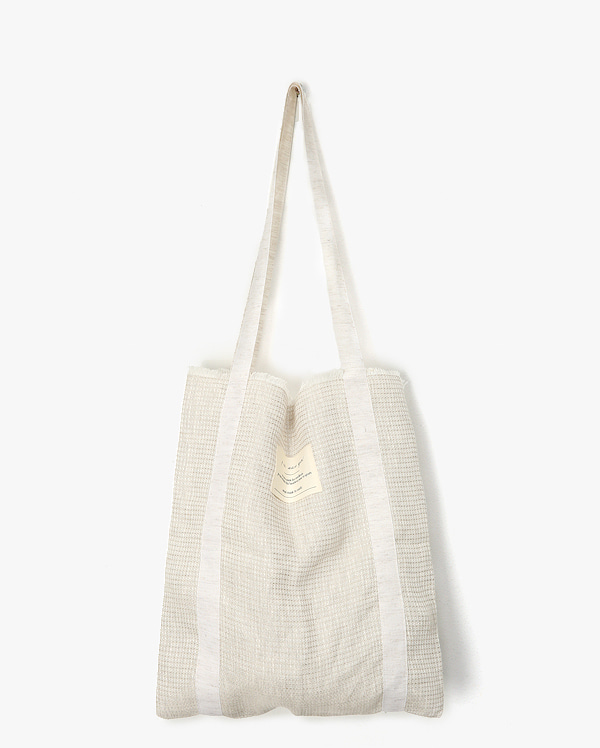 linen natural eco bag