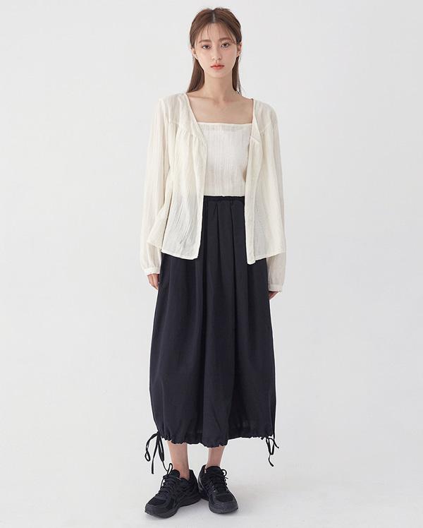 kind cotton cardigan set