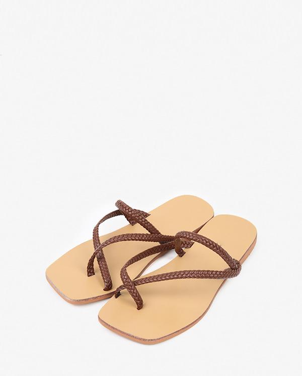 rope twist flip slipper (225-250)