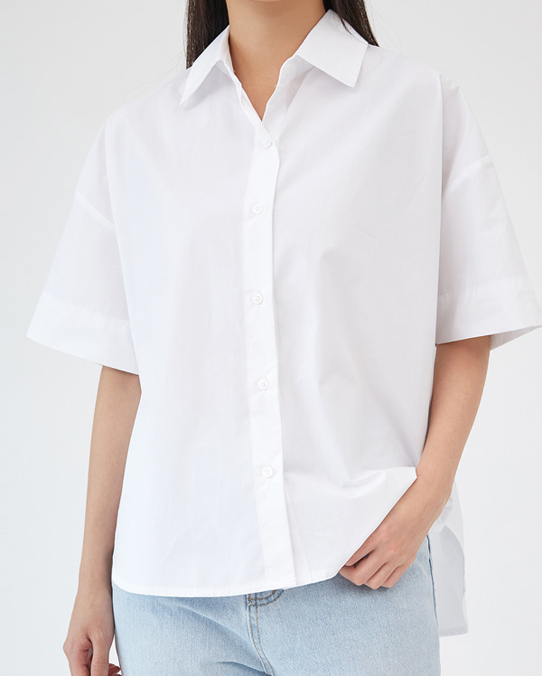 unbalance short sleeve shirts