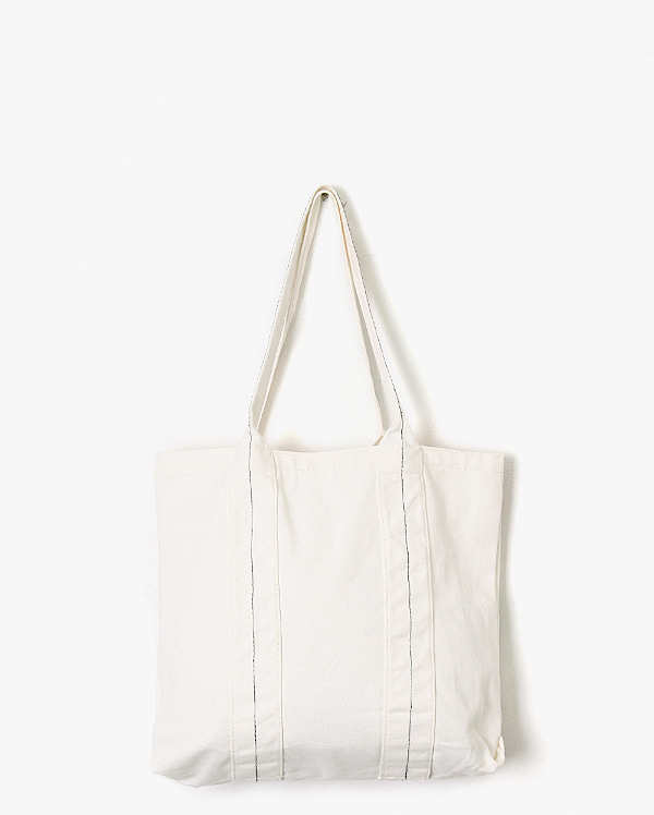 simple basic line eco bag