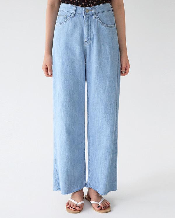 whole wide denim pants (s, m, l)