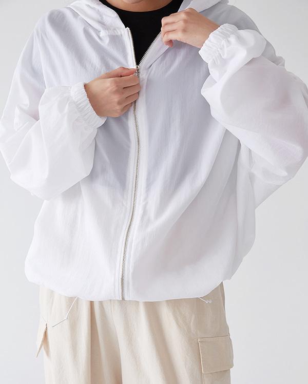 light string hood jumper