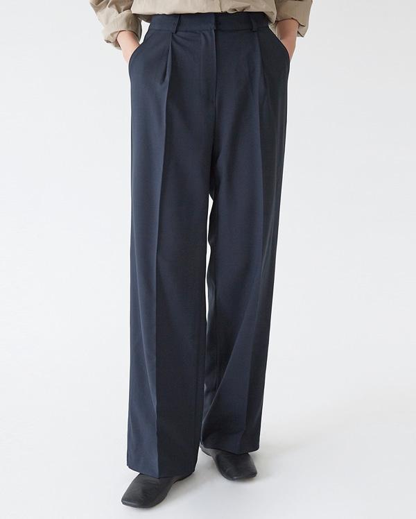 a grace pintuck pants (s, m)