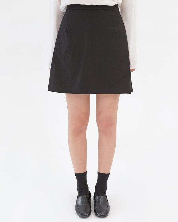 june mini linen skirt (s, m)