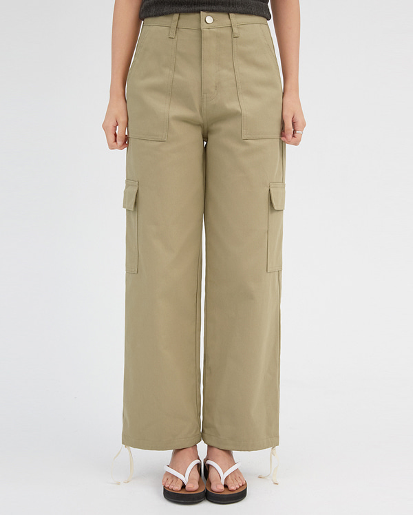 in cargo wide pants (s, m)