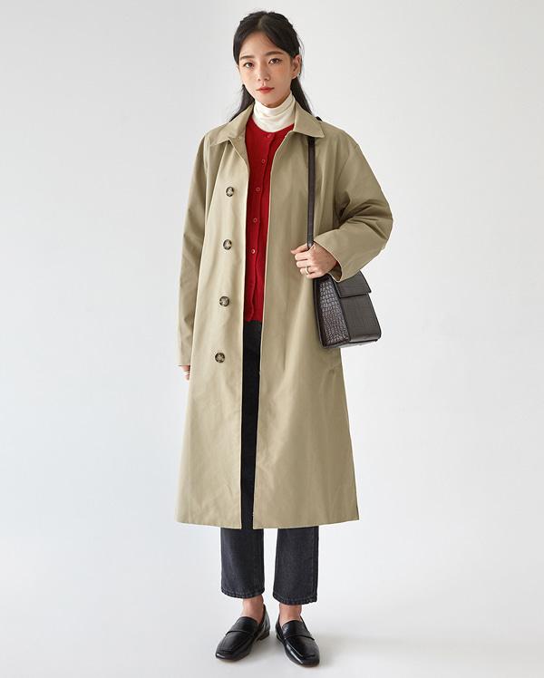 baldy single trench coat