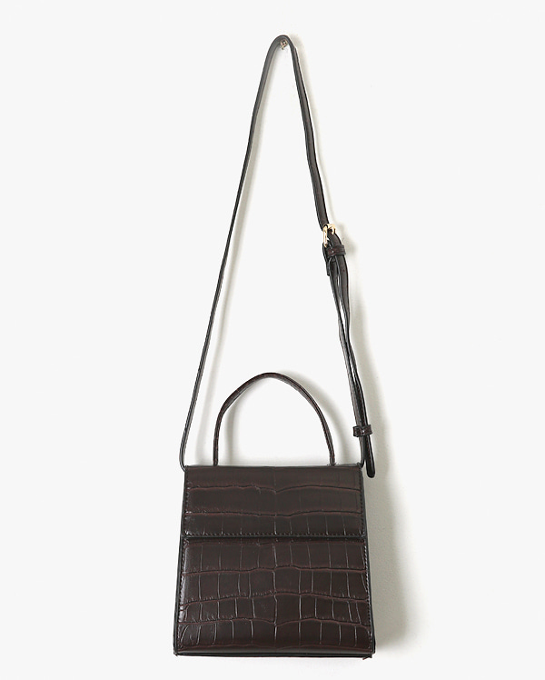 classical crocodile leather bag