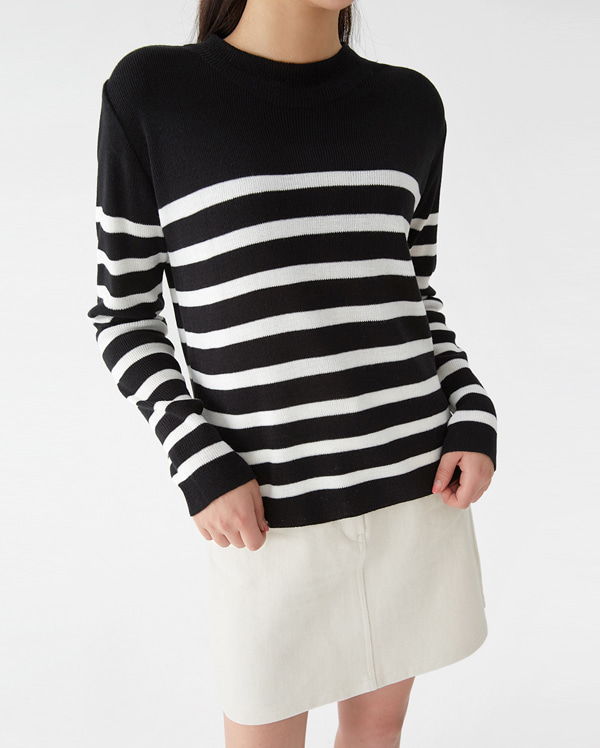 a cyclone stripe knit