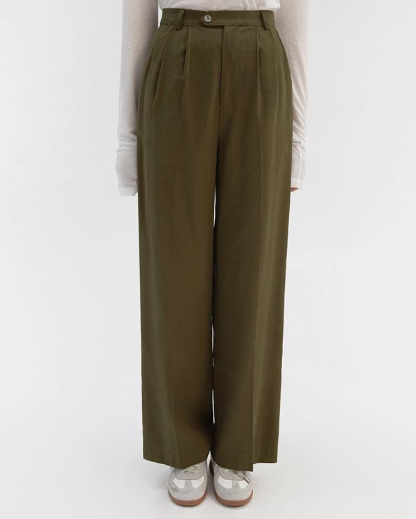 florence wide slacks (s, m)