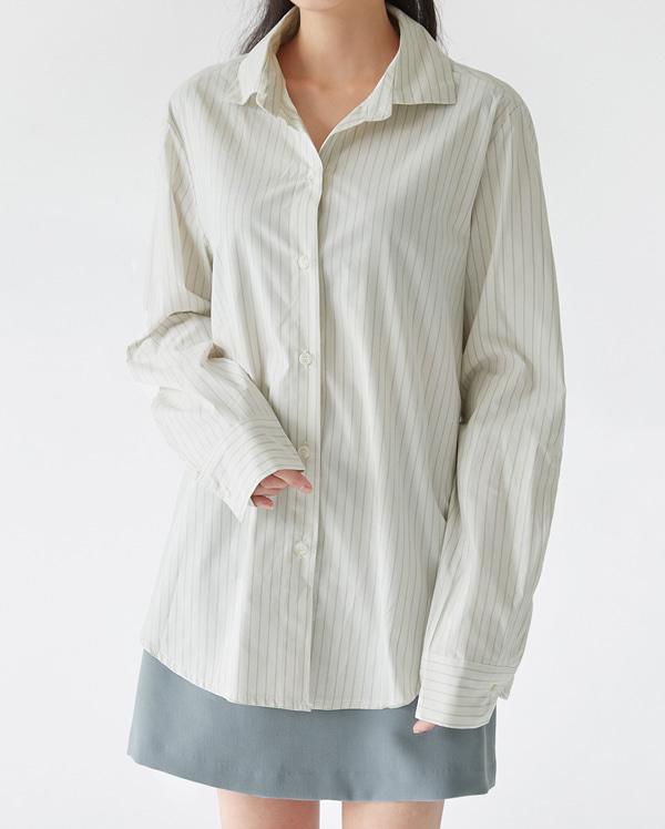 eva stripe basic shirts
