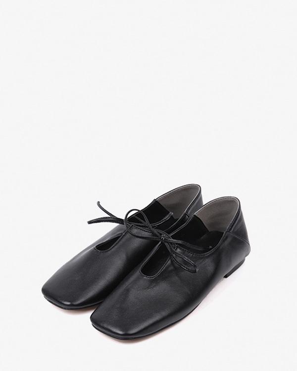 goffy ribbon flat shoes (230-250)