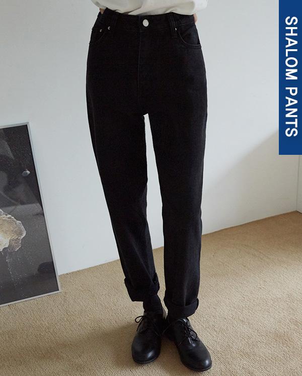 105_standard denim pants (s, m, l)