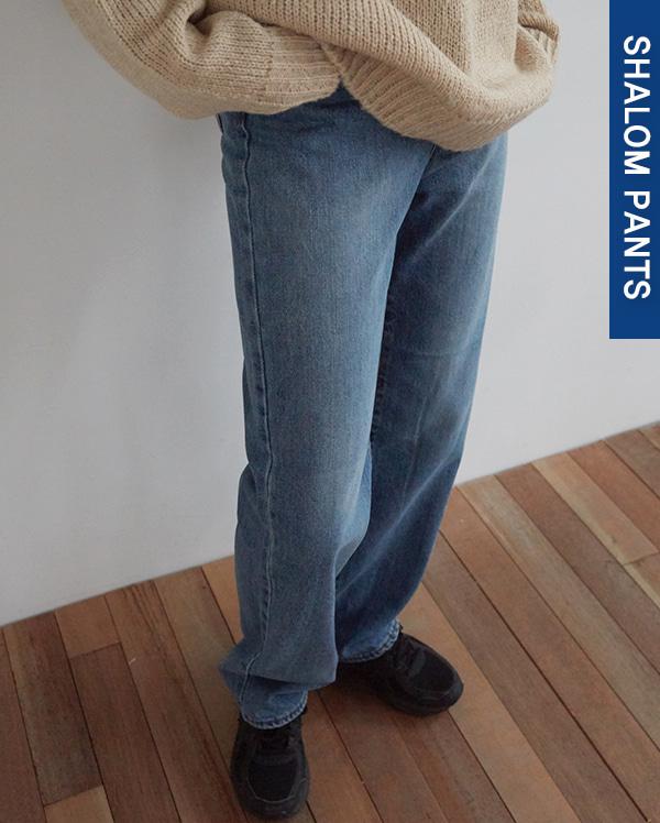 102_long deep denim pants (s, m, l)