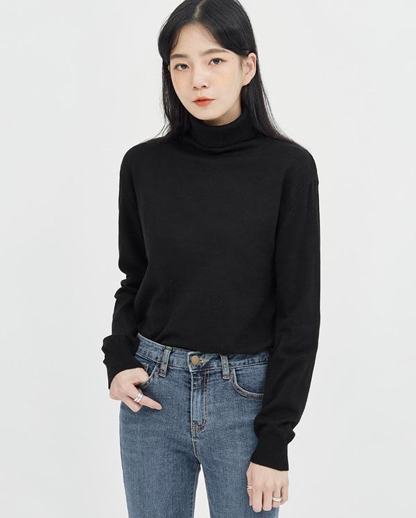 agatha modal polar knit