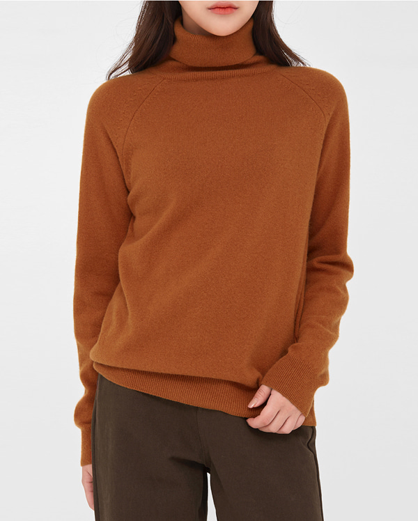 thermo wool high neck knit