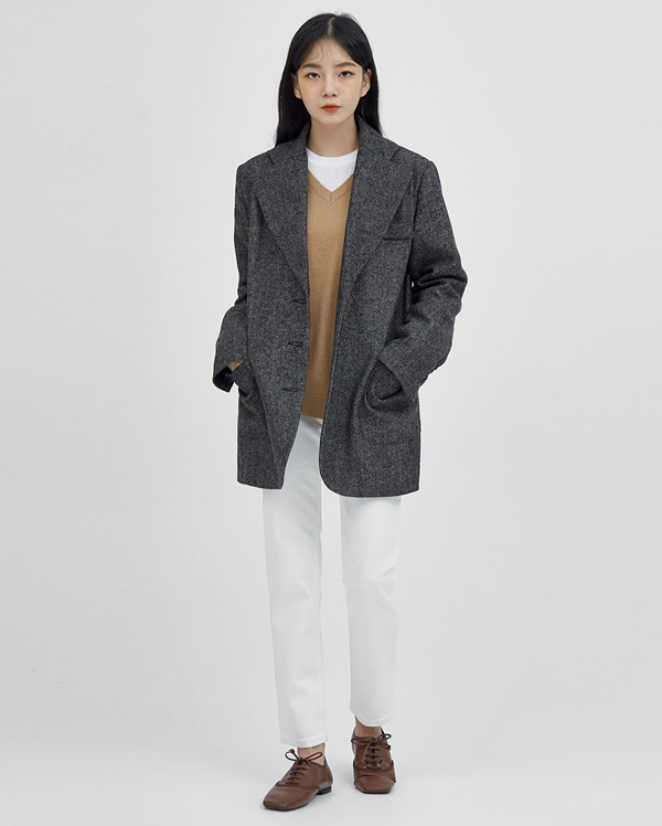 a stylish over fit jacket