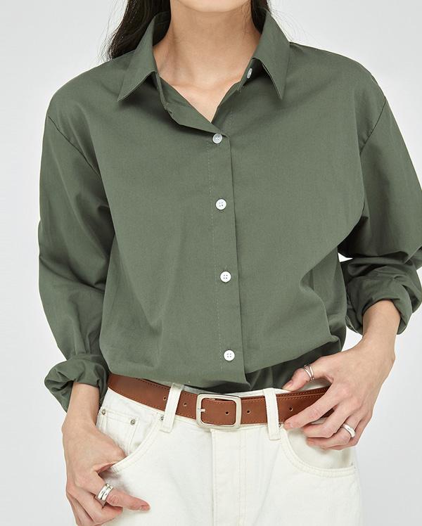 dean basic cotton shirts