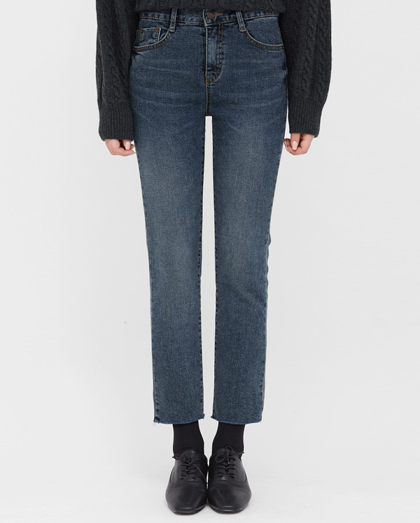 mow slim napping denim pants (s, m, l)