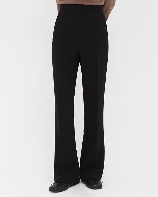 pin semi boots cut slacks (s, m, l)
