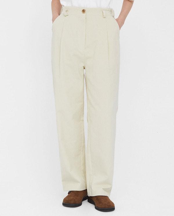 bear straight corduroy pants