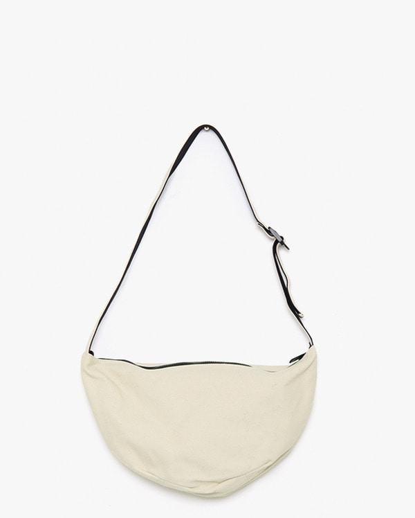 ben half moon canvas bag