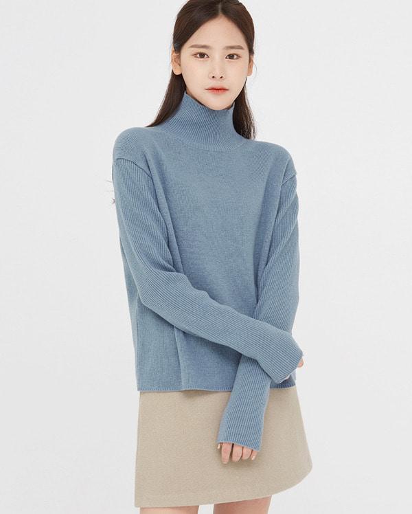 wishlist wool turtleneck knit