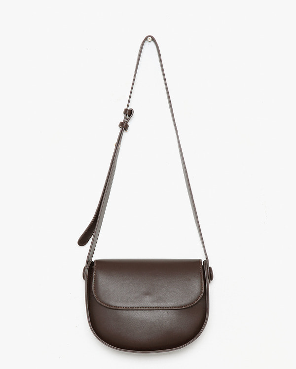 circular detail half moon bag