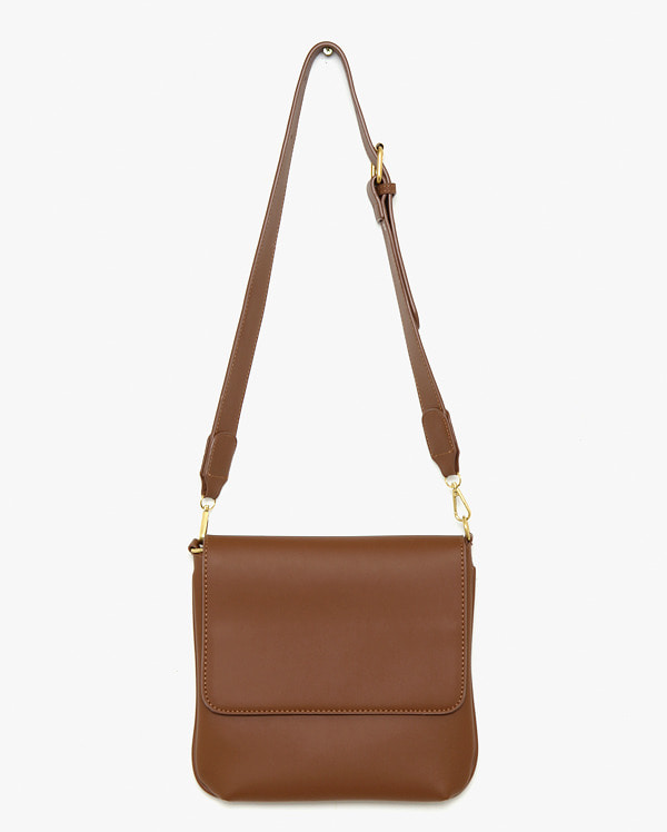 wind large square leather bag