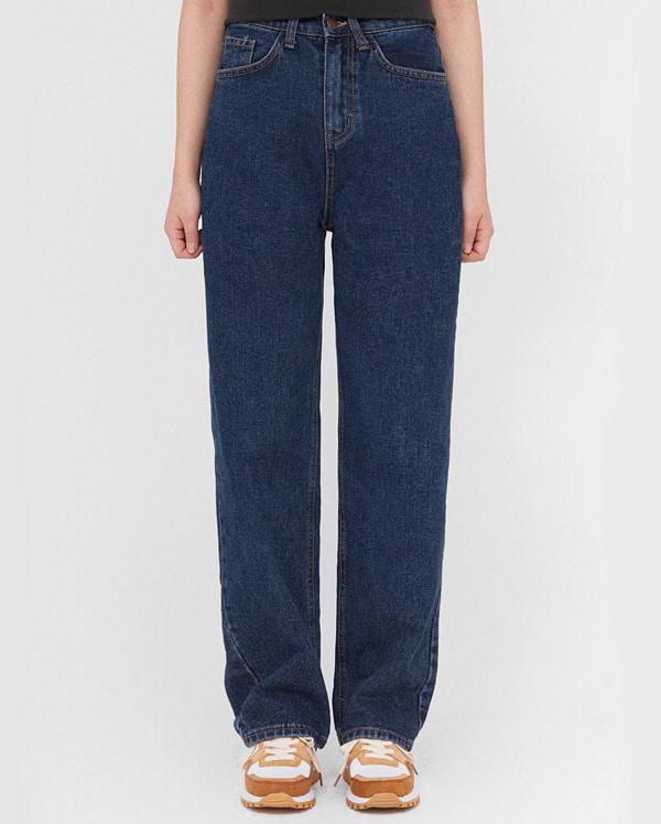 star wide denim pants (s, m, l)