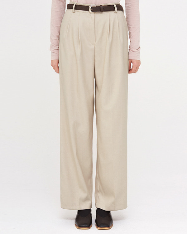 in wide belt banding slacks