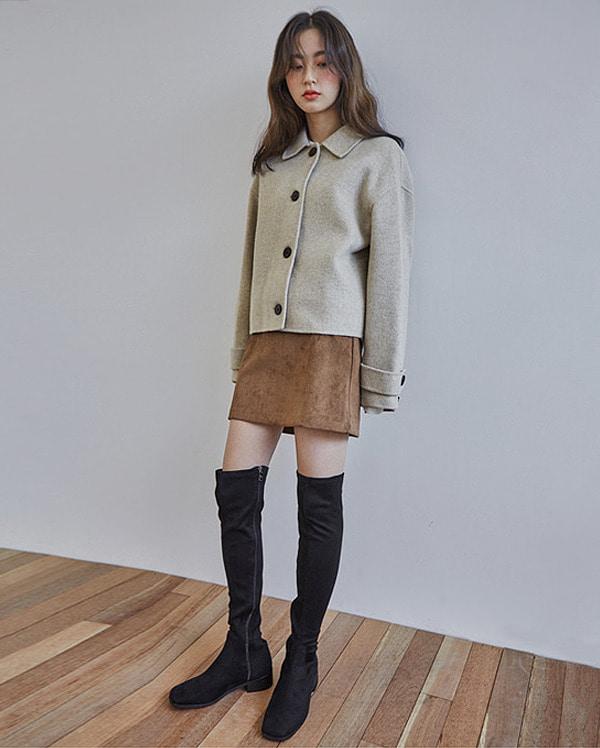 hello handmade jacket (wool90%)